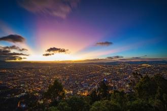 Panorama de Bogotá - Leonardo Villa