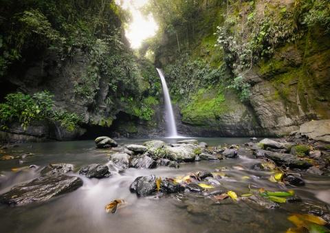 Cascada de los Escobos - Leonardo Villa