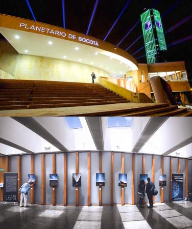 Exposición Planetario Distrital de Bogotá